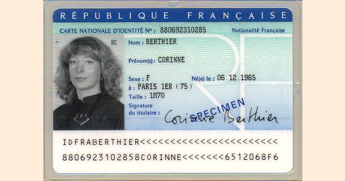 carte identite - Titre d'identité : carte d'identité et passeport