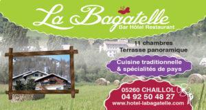 LA BAGATELLE Hôtel- Restaurant