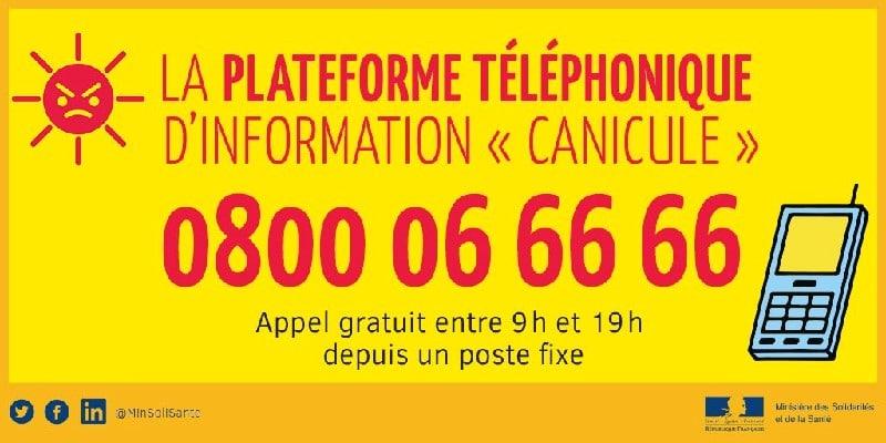 vignette canicule info service - Informations préfecture